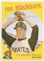 1959 Topps Baseball Cards      401     Ron Blackburn