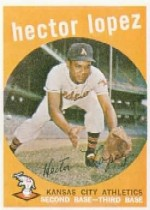 1959 Topps Baseball Cards      402     Hector Lopez