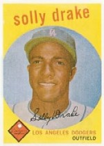 1959 Topps Baseball Cards      406     Solly Drake