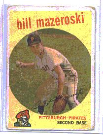1959 Topps Baseball Cards      415     Bill Mazeroski
