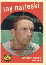 1959 Topps Baseball Cards      442     Ray Narleski