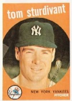 1959 Topps Baseball Cards      471     Tom Sturdivant
