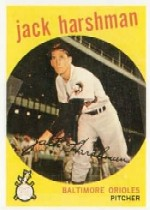 1959 Topps Baseball Cards      475     Jack Harshman