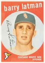 1959 Topps Baseball Cards      477     Barry Latman RC