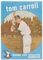 1959 Topps Baseball Cards      513     Tommy Carroll