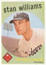1959 Topps Baseball Cards      053      Stan Williams RC