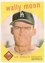 1959 Topps Baseball Cards      530     Wally Moon