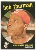 1959 Topps Baseball Cards      541     Bob Thurman