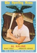 1959 Topps Baseball Cards      562     Al Kaline AS