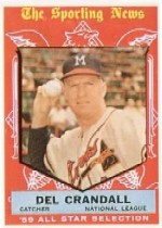 1959 Topps Baseball Cards      567     Del Crandall AS