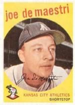 1959 Topps Baseball Cards      064      Joe DeMaestri