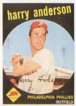 1959 Topps Baseball Cards      085      Harry Anderson