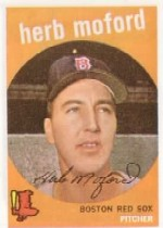 1959 Topps Baseball Cards      091      Herb Moford RC