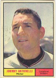 1961 Topps Baseball Cards      115     Johnny Antonelli