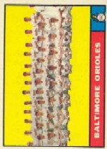 1961 Topps Baseball Cards      159     Baltimore Orioles TC