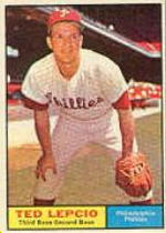1961 Topps Baseball Cards      234     Ted Lepcio