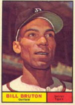 1961 Topps Baseball Cards      251     Bill Bruton
