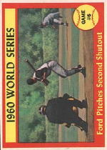 1961 Topps Baseball Cards      311     World Series Game 6-Whitey Ford