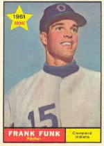 1961 Topps Baseball Cards      362     Frank Funk RC
