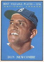 1961 Topps Baseball Cards      483     Don Newcombe MVP