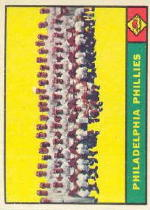 1961 Topps Baseball Cards      491     Philadelphia Phillies TC