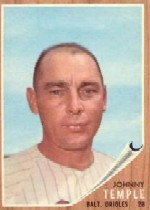 1962 Topps      034      Johnny Temple