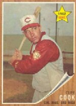 1962 Topps      041      Cliff Cook