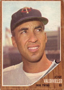 1962 Topps      339     Jose Valdivielso