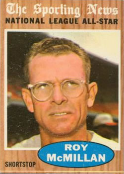 1962 Topps      393     Roy McMillan AS
