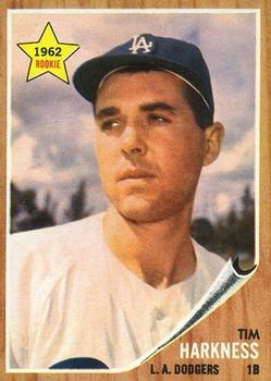 1962 Topps      404     Tim Harkness RC