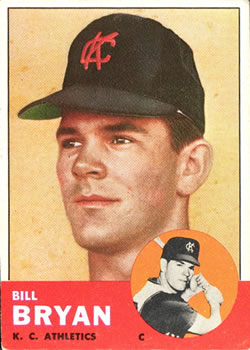 1963 Topps Baseball Cards      235     Billy O Dell