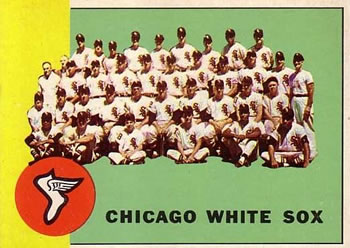 1963 Topps Baseball Cards      288     Chicago White Sox TC
