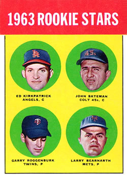 1963 Topps Baseball Cards      386     Rookie Stars