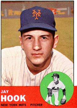 1963 Topps Baseball Cards      469     Jay Hook