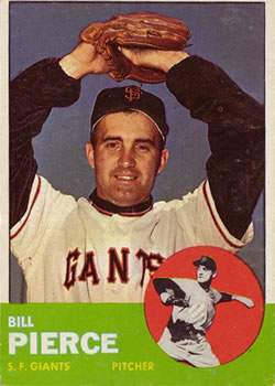 1963 Topps Baseball Cards      050      Billy Pierce