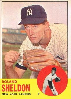 1963 Topps Baseball Cards      507     Roland Sheldon
