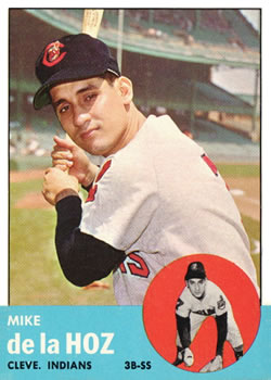 1963 Topps Baseball Cards      561     Mike De La Hoz