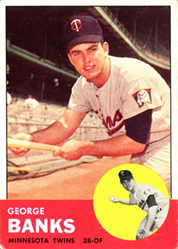 1963 Topps Baseball Cards      564     George Banks RC