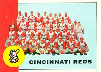 1963 Topps Baseball Cards      063      Cincinnati Reds TC