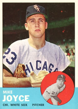 1963 Topps Baseball Cards      066      Mike Joyce RC