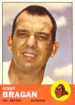 1963 Topps Baseball Cards      073      Bobby Bragan MG RC