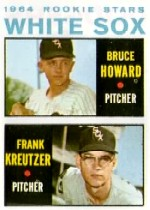 1964 Topps Baseball Cards      107     Rookie Stars-Bruce Howard RC-Frank Kreutzer RC