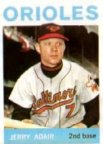 1964 Topps Baseball Cards      022      Jerry Adair