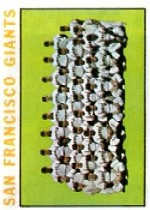 1964 Topps Baseball Cards      257     San Francisco Giants TC