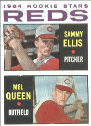 1964 Topps Baseball Cards      033      Rookie Stars-Sammy Ellis-Mel Queen