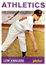 1964 Topps Baseball Cards      334     Lew Krausse