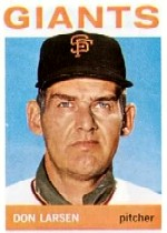 1964 Topps Baseball Cards      513     Don Larsen