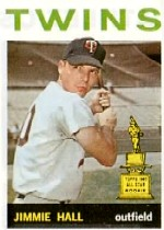 1964 Topps Baseball Cards      073      Jimmie Hall RC