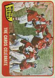 1965 Topps Baseball Cards      139     Cards Celebrate WS