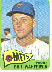 1965 Topps Baseball Cards      167     Bill Wakefield